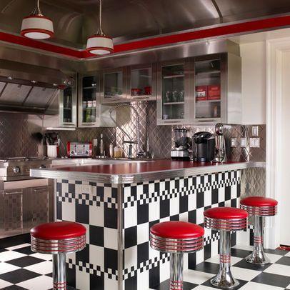 Retro Diner Design Ideas Pictures Remodel And Decor