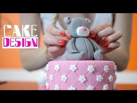 cake design : gâteau d'anniversaire pour fille - youtube