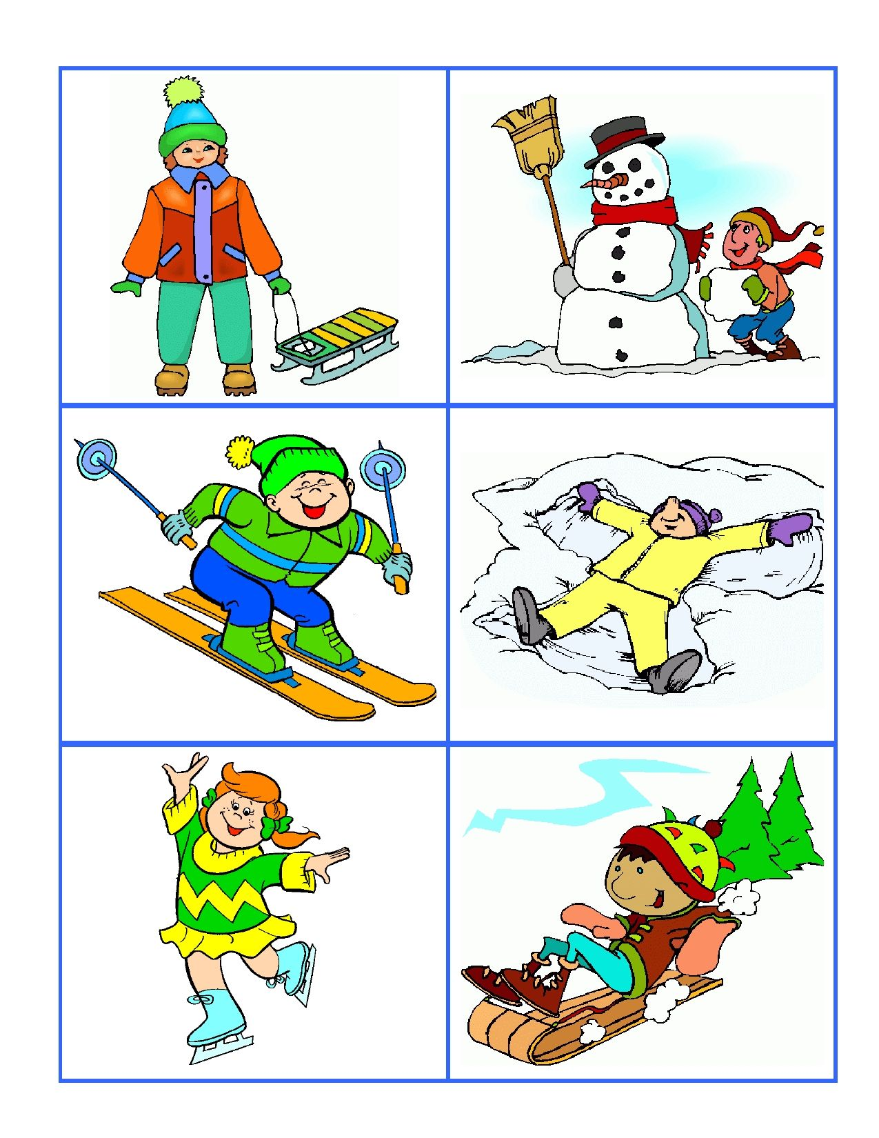 Hot Or Cold Weather Cards Help Preschoolers Develop Important Cognitive Thinking Skills