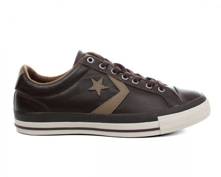 köp populärt temperament skor Vanliga skor Converse Star Player OX Chocolate Brown Leather Converse Star ...