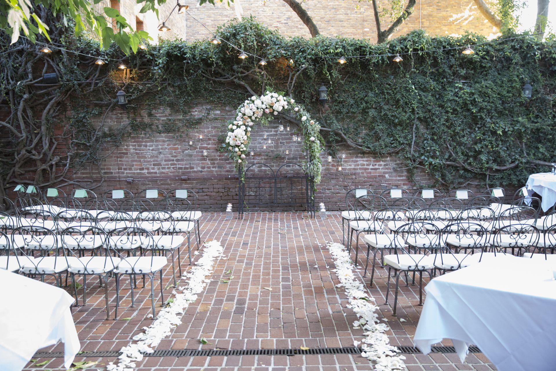 Romantic Summer Wedding in Sacramento | Sacramento, CA  FIREHOUSE SACRAMENTO VENUE