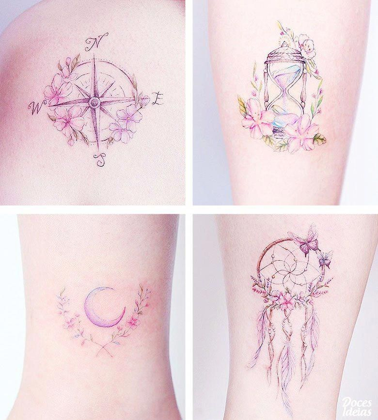 I Seriously Fancy The Different Colors Lines And Fine Detail This Is Really A Terrific Tattoo Design If You Would Like A Teatattoo With Images Tattoos