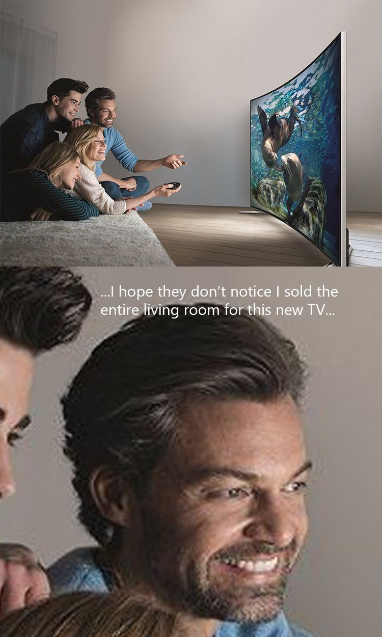 Photo of All I could think of when I saw this tv's stock photo – #WORKLAD