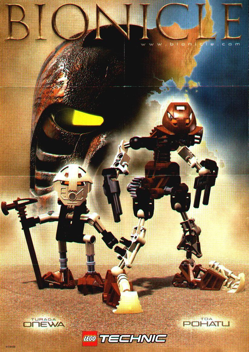Turaga Onewa and Toa Pohatu | Bionicle Saga | Pinterest | Ocio ...