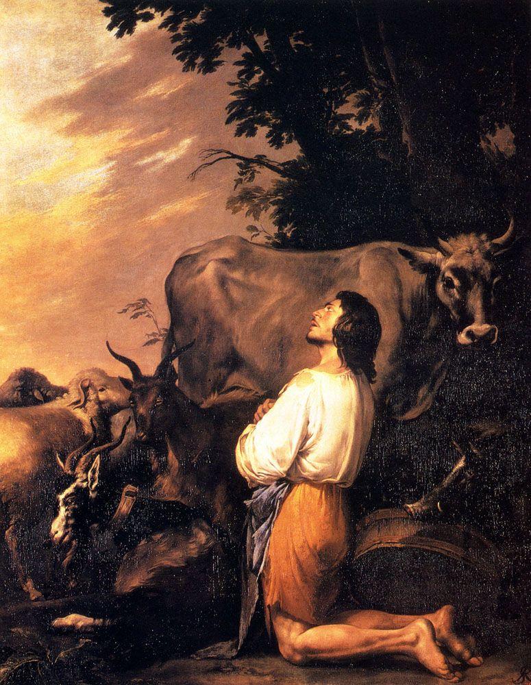 "Salvator Rosa, ""The Prodigal Son"""