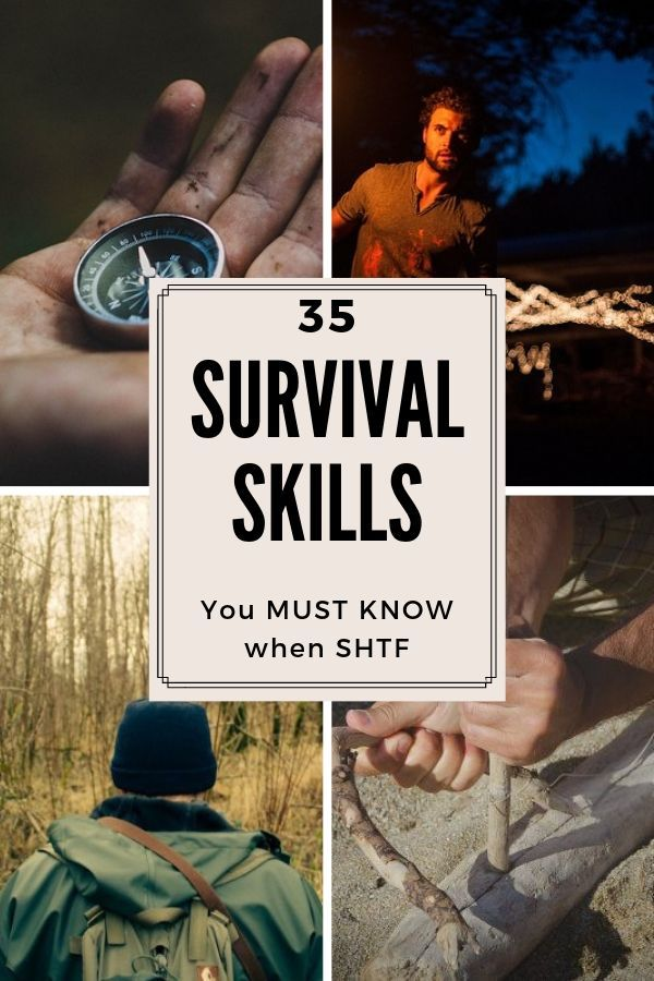 35 Survival Skills You Must Know Before SHFT