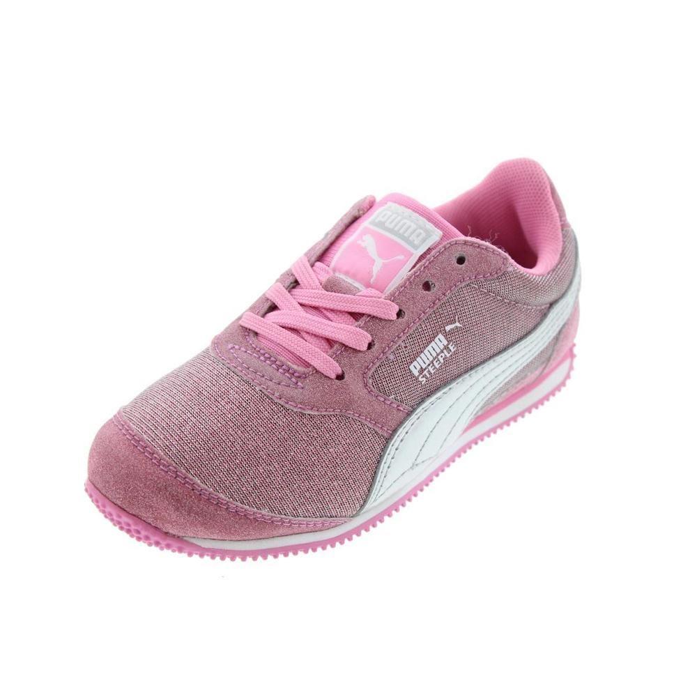 PUMA Girls Steeple Glitz Glitter Sport Casual Shoes Sneakers Size 11  RRP  57… 13c3e062a