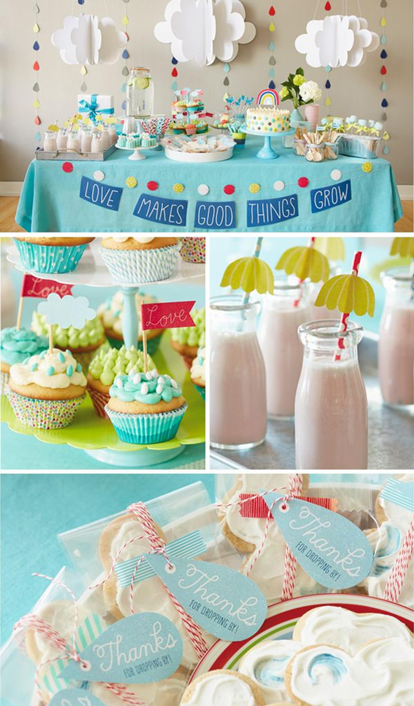 Fresh Ideas For A Springtime Baby Shower Baby Tips Pinterest