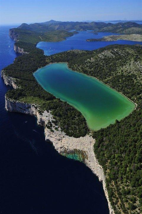 Island Dugi otok, Long Island, Croatia have sweet water