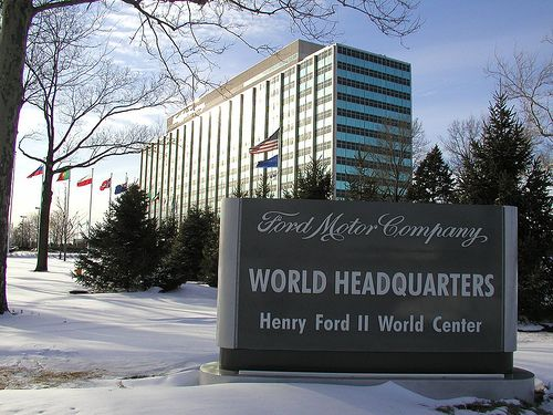 Ford Corporate Headquarters In Dearborn Michigan Http Www Fordinthenews Com Php5 6 Dfw1 2 Websitetestlink Com Wp Content Ford Motor Company Ford Motor Ford