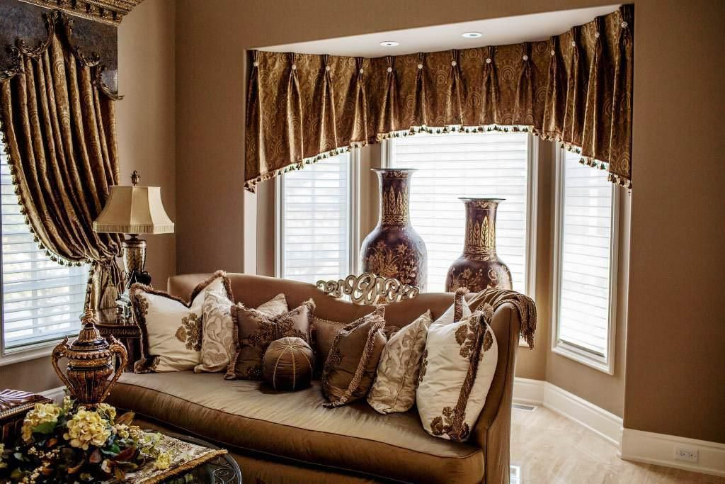 Country Valances For Living Room | Window Treatments Design ...