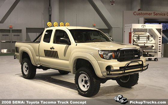 Toyota Pickup Concept Back To The Future Throwback Awesome
