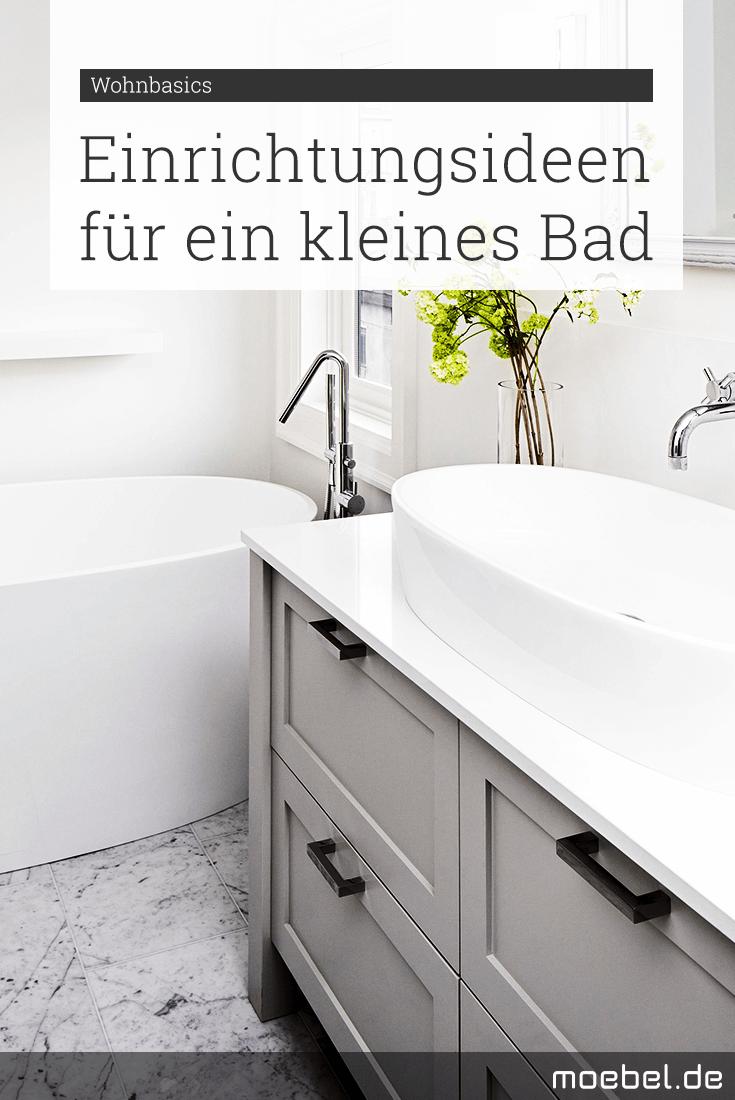 Einrichtungsideen Fur Kleine Badezimmer Wir Zeigen Wie Du Dein Kleines Bad Mit Fliesen Farben Und Beleuchtu Einrichtungsideen Einrichtung Kleine Badezimmer