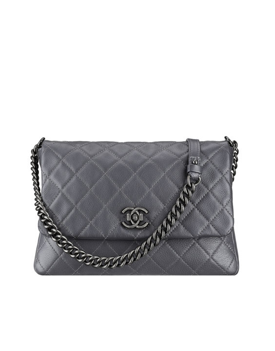 Chanel Grey Satchel Couture Bag - Spring 2015 Act 2 | Wannahaves ...