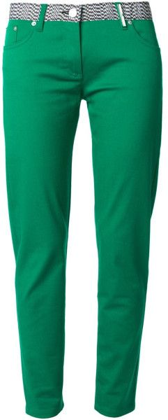 Kenzo Skinny Jeans in Green | The House of Beccaria~
