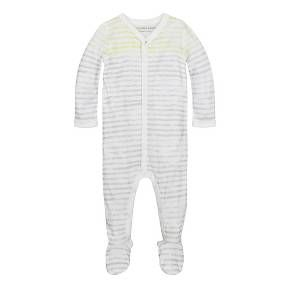 4fe9449d4 Burt s Bees Baby® Organic Watercolor Stripe Coverall   Hat Set ...