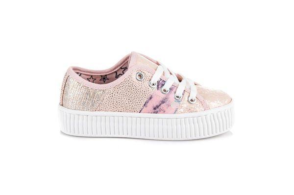 Kylie Rozowe Trampki Na Platformie Platform Sneakers Superga Sneaker Shoes