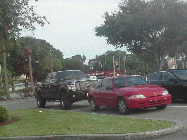 Nice parking, guy