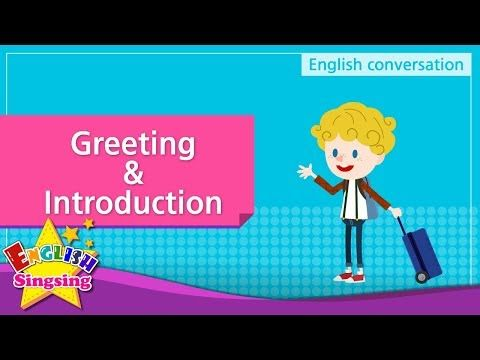 Youtube english dialog factice pinterest role play greeting introduction english dialogue educational video for kids role play conversation m4hsunfo