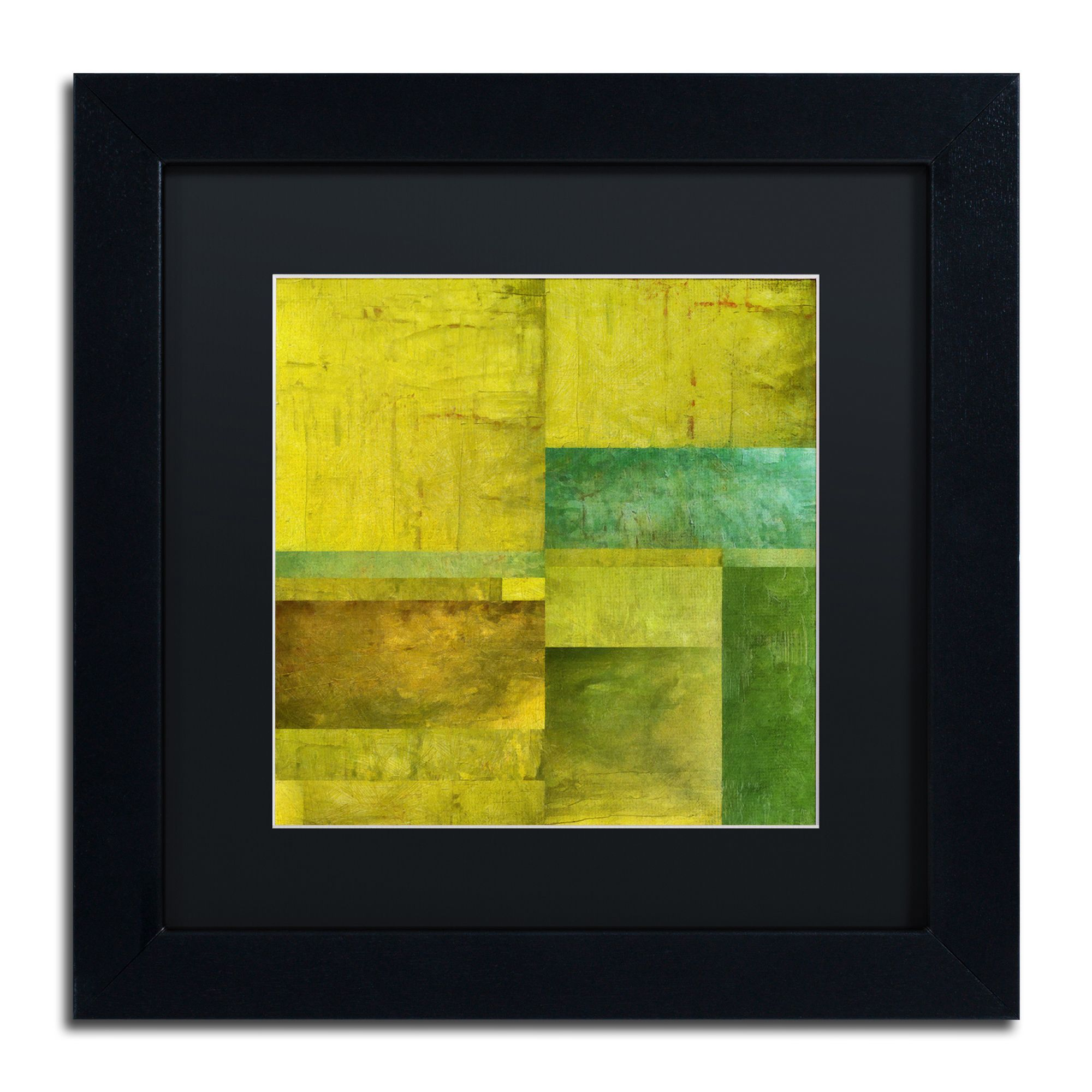 Michelle Calkins \'Essence of Green\' Matted Framed Art | Products ...