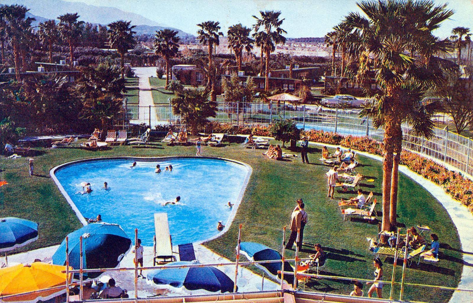 Coachella Valley Histoy Circa 1961 Desert Air Hotel Resort Palm Airpark