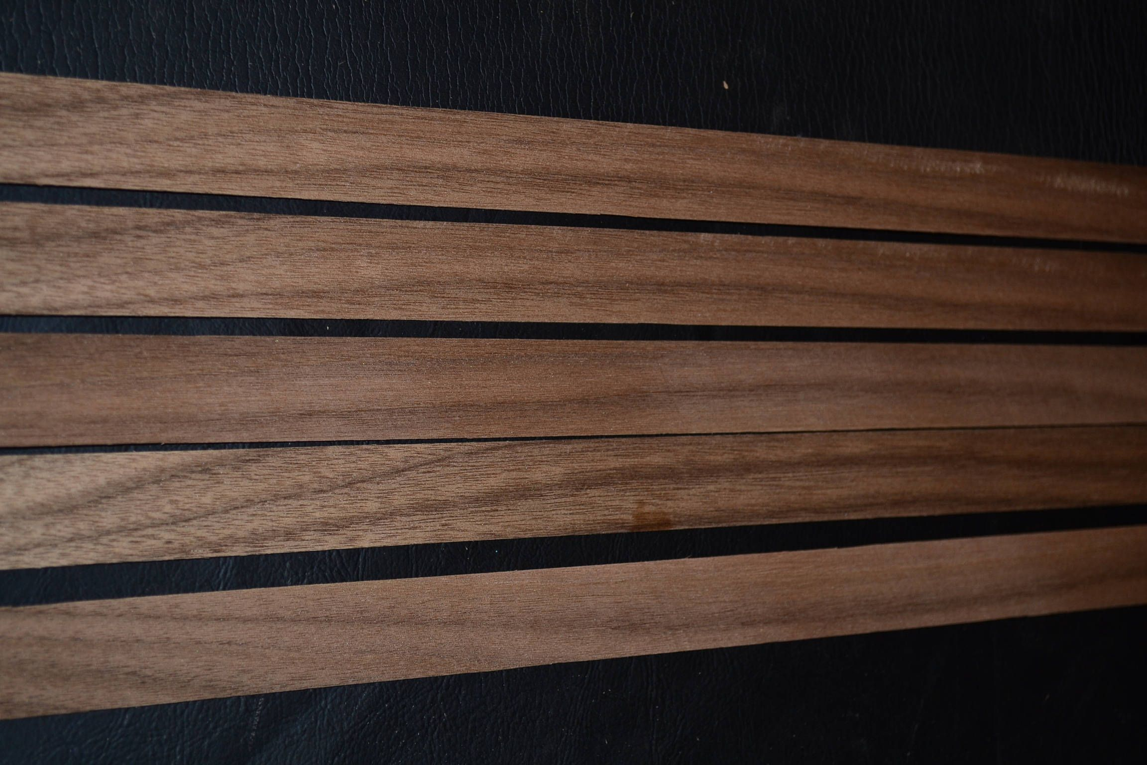 My Last Bundle Of This In Stock Etsy Shop Walnut Raw Wood Veneer Strips 15 Pieces 1 X 35 Inches 1 42nd Or 6mm T Wood Veneer Sheets Wood Scraps Wood Veneer