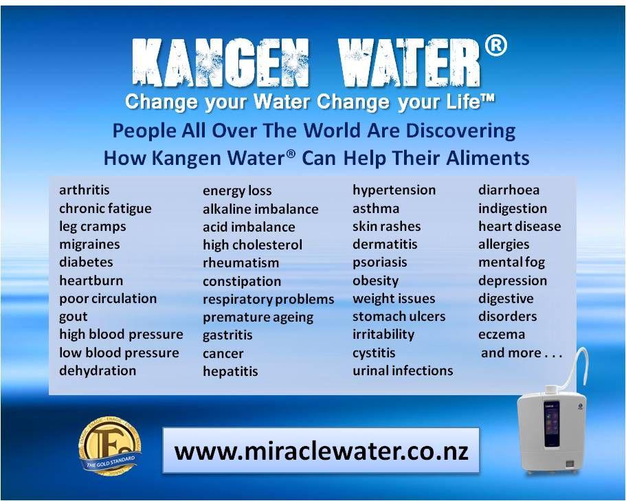 Change Your Water Change Your Life Kangen Water Water Health Benefits Water Health