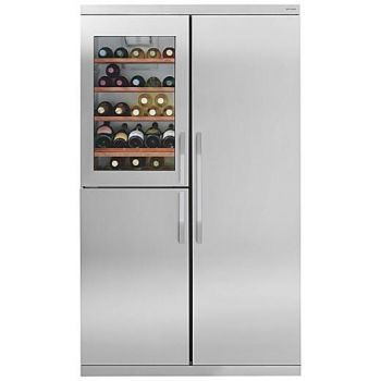 3 Door American Style Fridge Freezer With 39 Bottle Wine Cooler American Fridge Freezers Fridge Freezers Wine Cooler Fridge