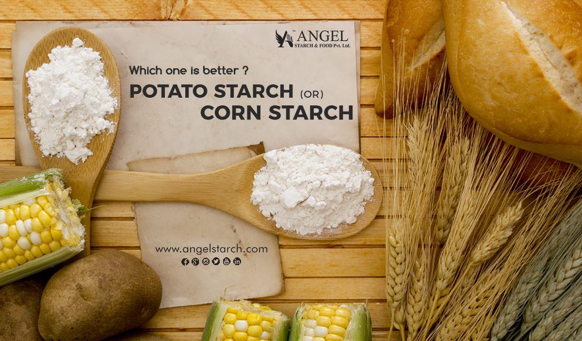 Potato starch vs cornstarch for thickening
