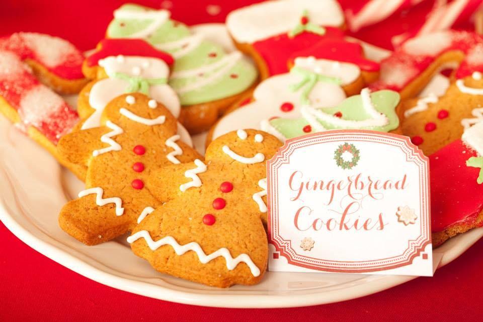 Gingerbread Cookies Création : LITTLE - Petits Gâteaux Crédit Photo : Julie Marie Gene Graphisme : Solenn As Sweet