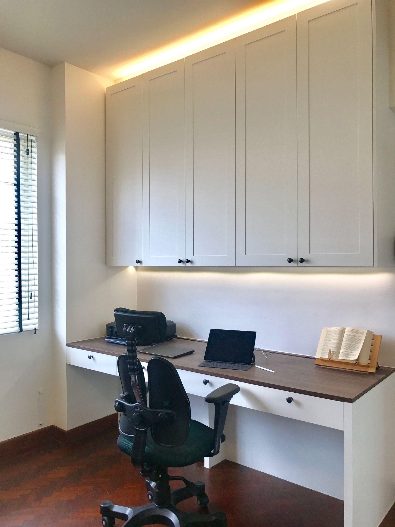 Colonial Bliss Home, Home decor, Corner desk