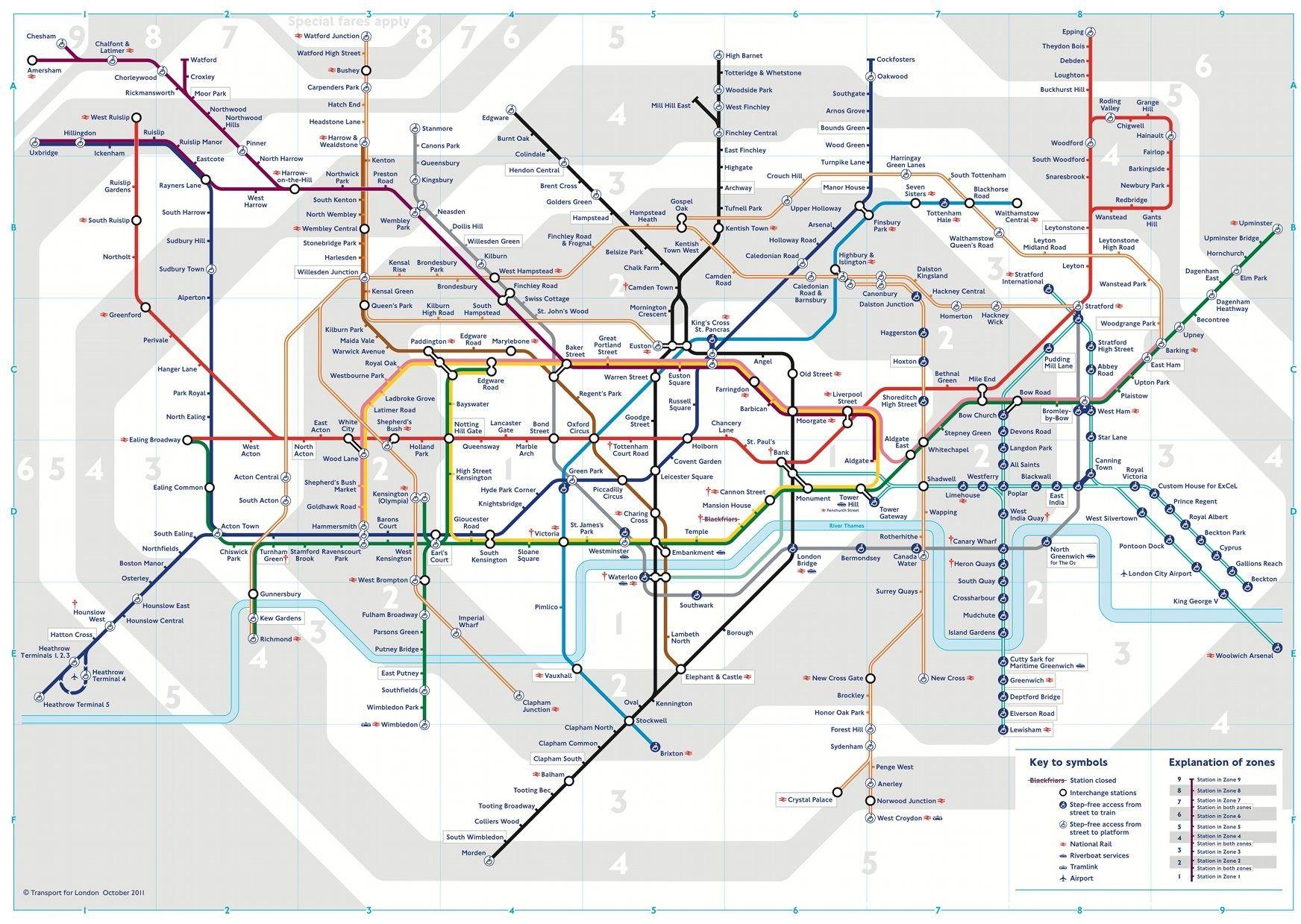 Plan Metro Londres Grand Jpg Jpeg Image 1744 1239 Pixels Scaled 53 Metro Londres Metro Londonien Carte Du Metro