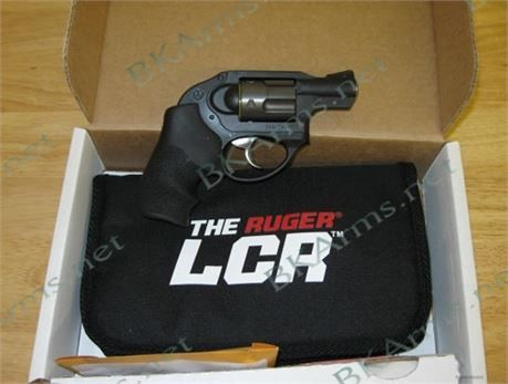 "FREE SHIPPING to CONUS! Ruger 5450 LCR DAO 357 RemMag 1.875"" 5rd Hogue Tamer Monogrip Black. 	 The Ruger LCR (Lightweight Compact Revolver) is a small frame revolver with a smooth, easy to control trigger and highly manageable recoil. These revolvers feature high-strength stainless steel cylinder that is extensively fluted to reduce weight and an Ionbond Diamondblack cylinder finish for excellent durability. The monolithic frame, which supports cylinder and barrel, is made from aerospace…"