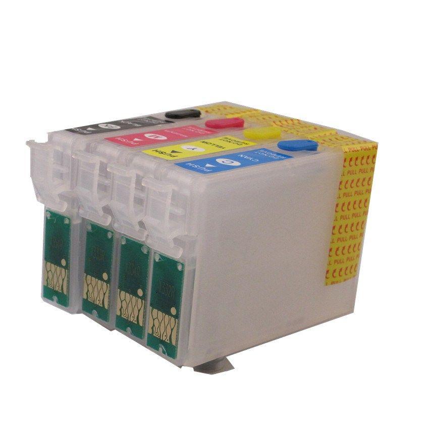 Cartucho De Tinta Recargable 73n T0731n T0734n Para Impresoras