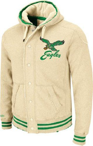 new products e081c eaf56 Philadelphia Eagles Mitchell & Ness Vintage Off Tackle ...