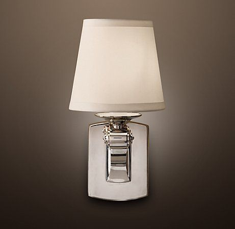 Campaign Single Sconce From Restoration Hardware 95