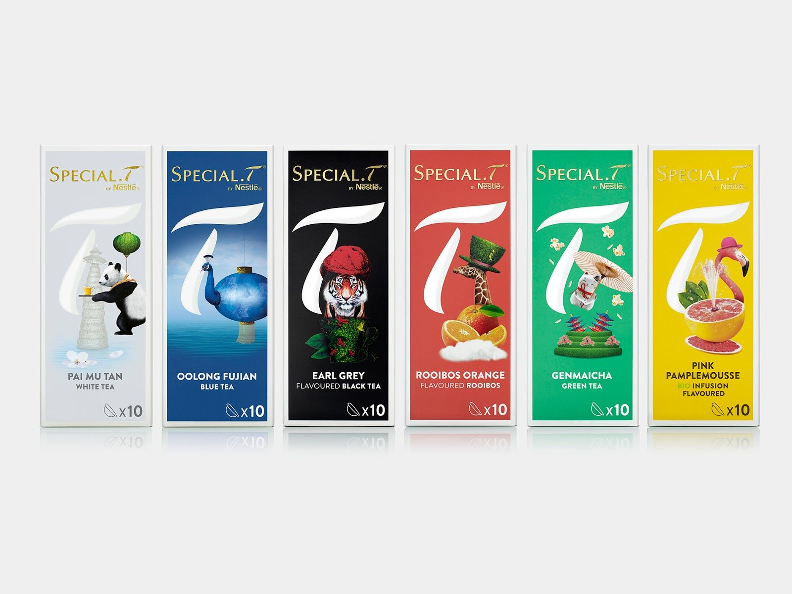 Special T Tea Packaging Design Packaging Design Tea Packaging