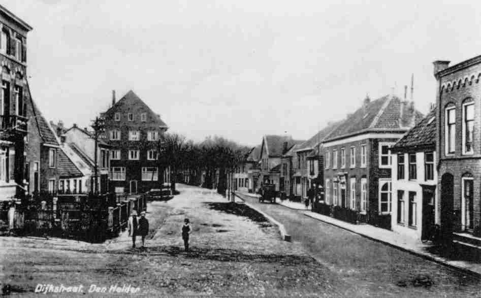 Dijkstraat vanaf Bonselaarsweg