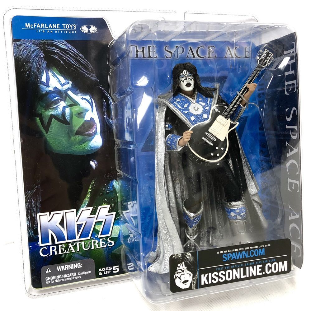 Kiss 2002 Mcfarlane Creatures Space Ace Frehley Action Figure