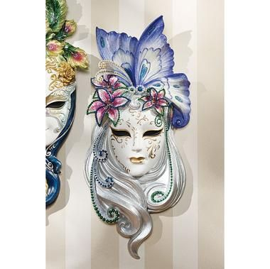 Decorative Venetian Masks New Mask Of Venice Wall Sculpture Butterfly Mask  Maschere 2018