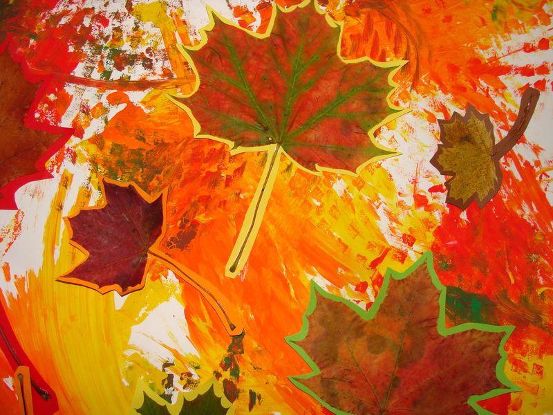 Tableau d 39 automne activit s enfants pinterest automne tableau et activit - Activite automne maternelle ...