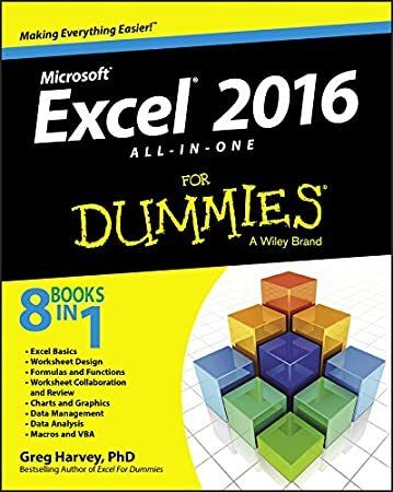 Kindle Excel 2016 AllinOne For Dummies