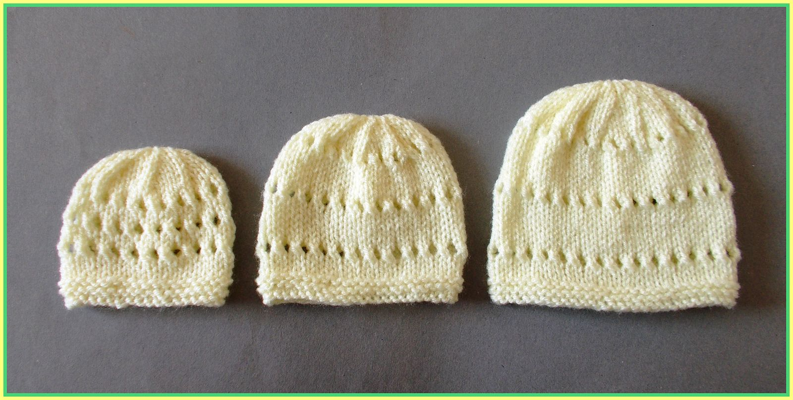 Little Jay ~ Premature Baby Hats by marianna mel