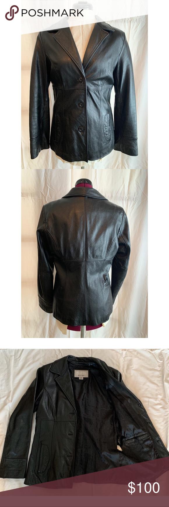 Vintage Wilson's Leather women's jacket Leather jackets