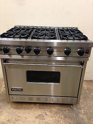 Viking Vgic3656gss 36 Professional Gas Range Oven 6 Burner