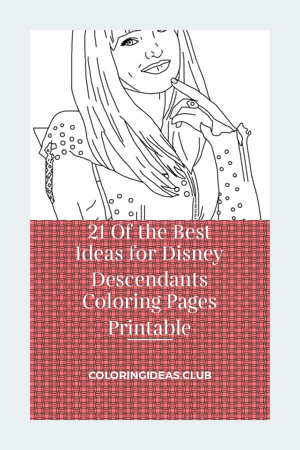 Disney Descendants Coloring Pages Printable Best Of Descendants 2 Printable Coloring Pages Descendants Coloring Pages Coloring Pages Disney Descendants