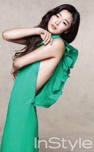More of Jeon Ji Hyun In InStyle Korea's March 2013 Issue