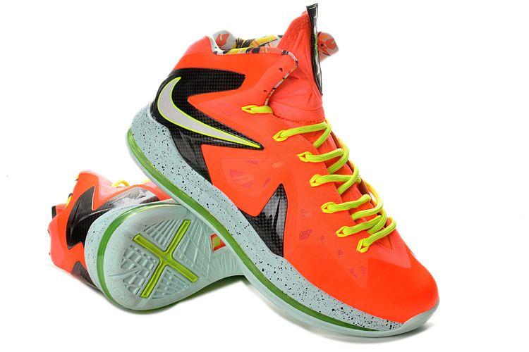 lebron 10 elite orange