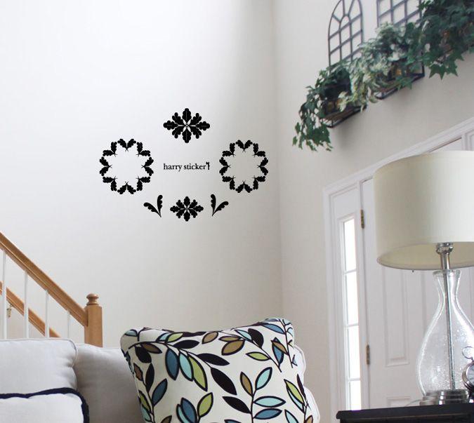 wallsticker leaf-circle Wallpaper interior Design