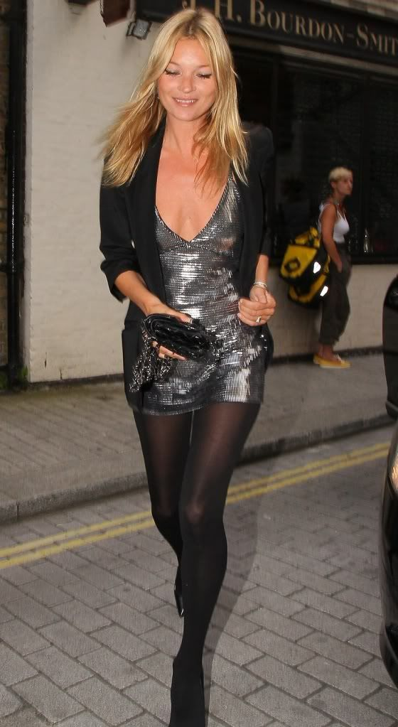 kate moss. sequins